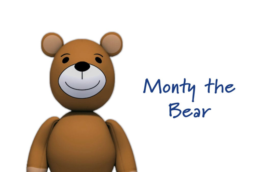 Welcoming Monty the Bear